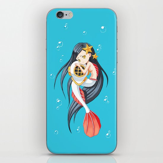Mermaid iPhone & iPod Skin