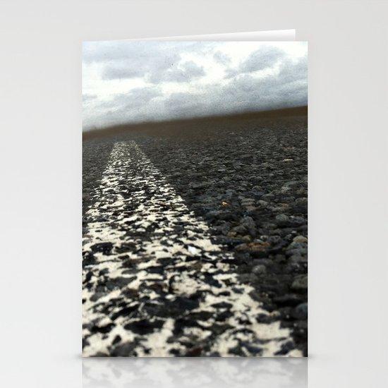 dirt roads Stationery Card