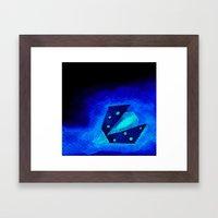 Ladybird Origami 2 Framed Art Print
