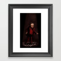 Twin Peaks - The Man Fro… Framed Art Print