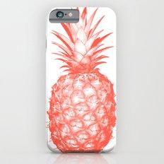 Coral Pineapple iPhone 6 Slim Case