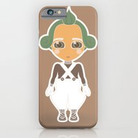iPhone & iPod Case featuring Willy Wonka by Ricky Kwong