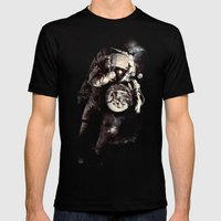 It's A Small World After… Mens Fitted Tee Black SMALL