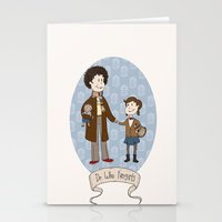 Dr Who Fangirls Stationery Cards