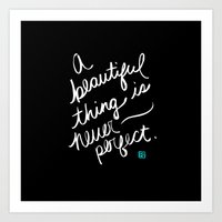 A Beautiful Thing (inver… Art Print