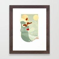 Mountain Poppies Framed Art Print