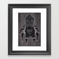 wrinkle warrior Framed Art Print