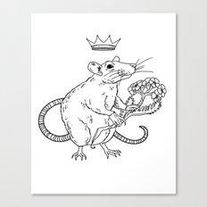 Rat King Canvas Print