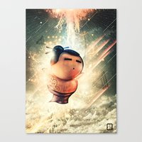 Rise Of Sumo Canvas Print