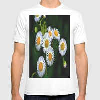 Flowerworks Mens Fitted Tee White SMALL