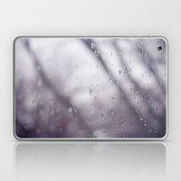 Rain drops. Laptop & iPad Skin
