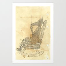Time to relax Art Print