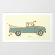 Get Lost #2 Art Print