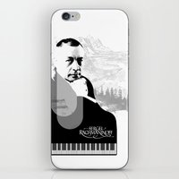 Sergei Rachmaninoff iPhone & iPod Skin