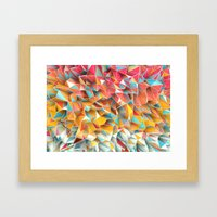 Kaos Summer Framed Art Print