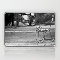 Solitary Park Bench Laptop & iPad Skin