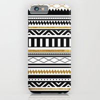 iPhone Cases featuring Aztec by Kakel