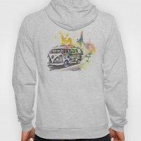 Classic Vw Volkswagen Bus Van Painting Hoody