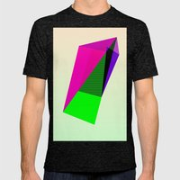 Shard Mens Fitted Tee Tri-Black SMALL