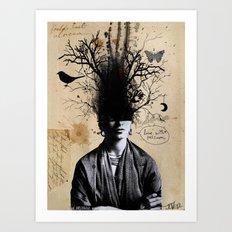 Frida's last dream Art Print