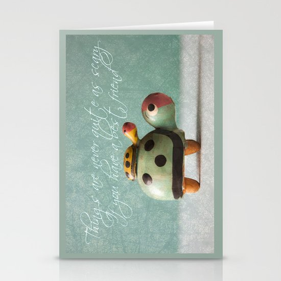 Best Friends  Stationery Card