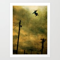 The Jumper Art Print