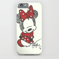 Minnie Mouse Zen Tangle iPhone 6 Slim Case