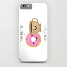 Donut and Coffee  |  Really Hot and So Sweet iPhone 6 Slim Case