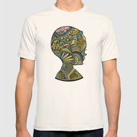 Beauty of the mind Mens Fitted Tee Natural SMALL