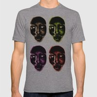 Zombie! Mens Fitted Tee Athletic Grey SMALL