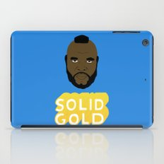 Solid Gold iPad Case