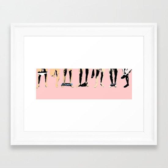 Circle jerk Framed Art Print
