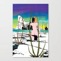 Totally different Canvas Print
