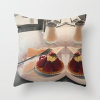 The Tart Throw Pillow