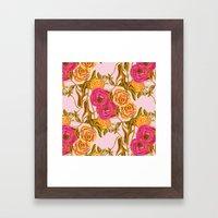 Ranunculus Garden Framed Art Print