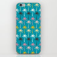 iPhone & iPod Skin featuring Palm Trees #5 by Ornaart