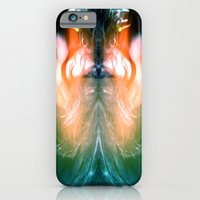 iPhone & iPod Case featuring Lady Hawk by bobtheberto