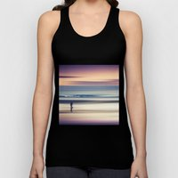 Sharing the Magic - abstract seascape at sunset Unisex Tank Top