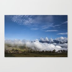 Its below Canvas Print