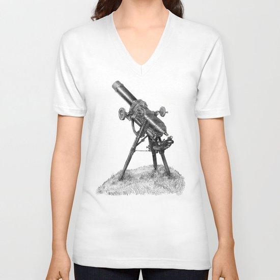 Moonrise (sepia option) V-neck T-shirt