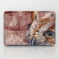 Human Owl iPad Case