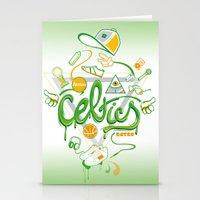 CELTICS Stationery Cards
