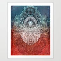 Watching Over You Art Print