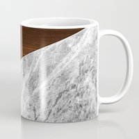 Wooden Marble Mug