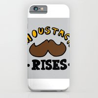 iPhone & iPod Case featuring moustach rises by benjamin chaubard