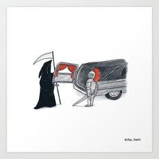 Chivalry is Dead? Art Print