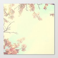 Lovely Flowers in the Sky  Canvas Print