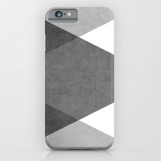 black and white triangles Slim Case iPhone 6s