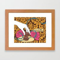 macarons 04 Framed Art Print