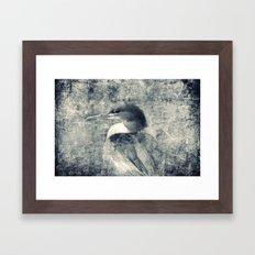 BIRD - CROSS/PROCESS Framed Art Print